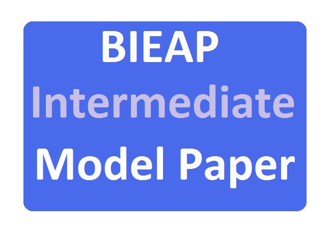 AP 12th Inter Model Paper 2020
