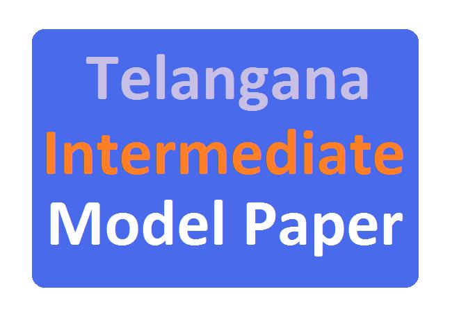 TS Inter Model Paper 2020