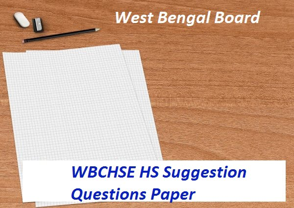WBCHSE 12th Model Paper